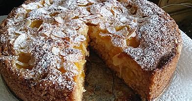 Пирог с желтыми сливами, которые всегда получается просто великолепно