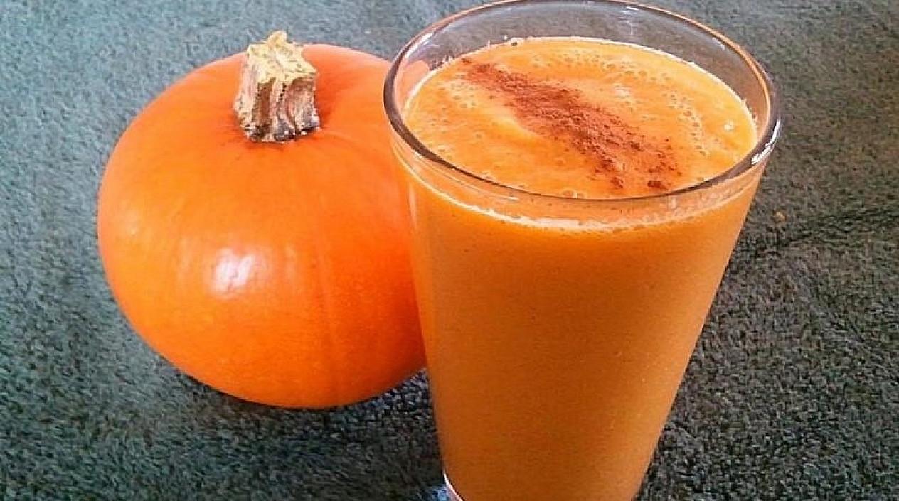 Kiekvieną rudenį ir žiemą aš darau visai šeimai šį vitamininį moliūgų kokteilį! Ypač naudingas moterų sveikatai!