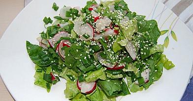 Простой и лёгкий летний салат