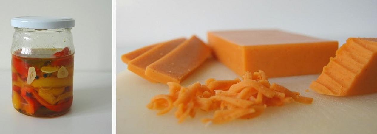 Veganiškas paprikos sūris - sveikas pasirinkimas, ne tik veganams!