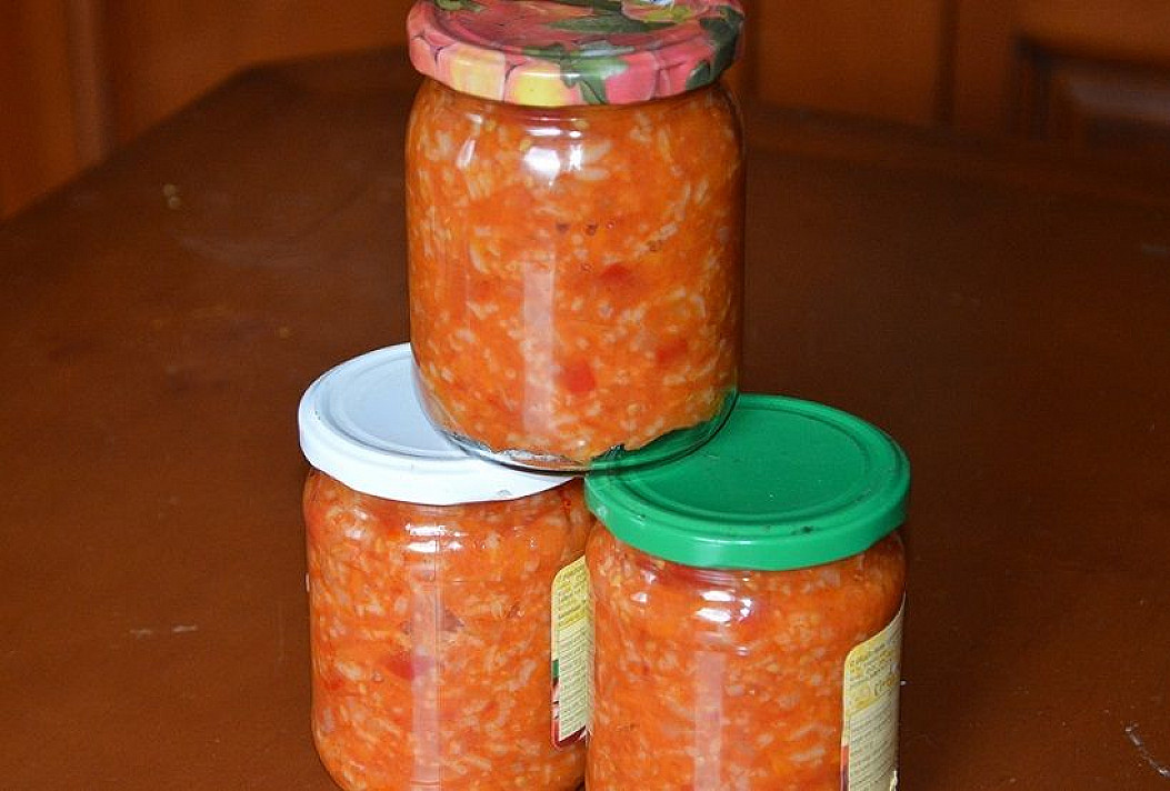 Ryžių sriuba žiemai (su pomidorais)