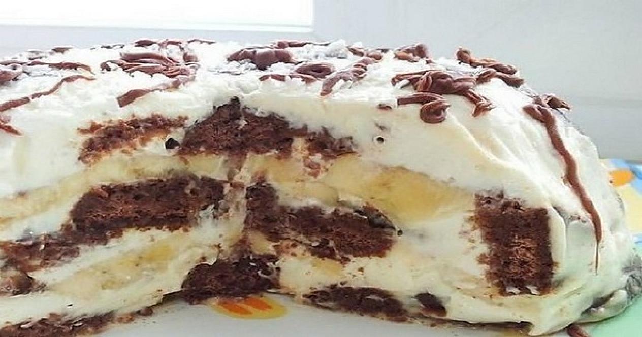 Skanus ir saikingai saldus tortas iš 3 ingredientų, kurio nereikia kepti