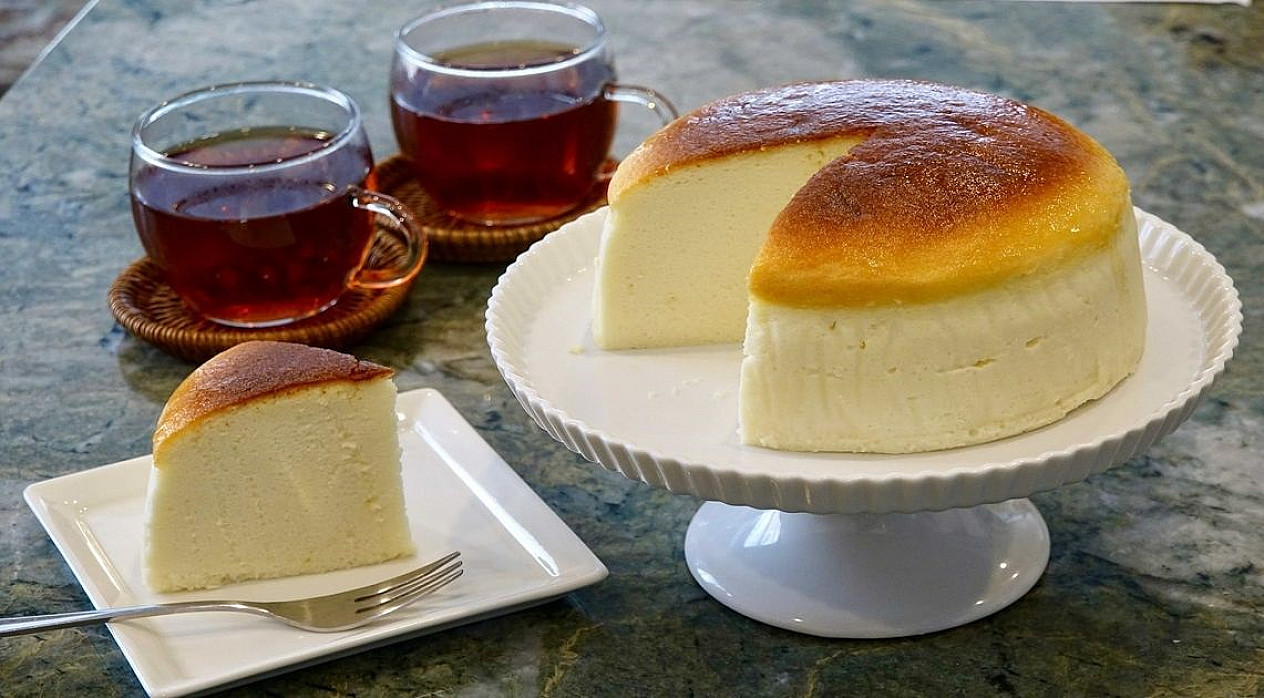 Unikalus sūrio pyragas: receptas iš Japonijos, kur jis kepamas kasdien!