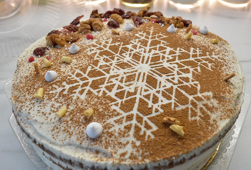 Dieviško skonio imbierinis tortas