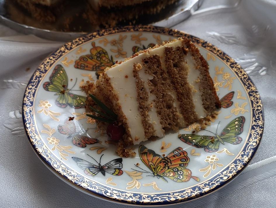 Бисквитный медовый торт «деревенский» - хочется ещё и ещё кусочек!