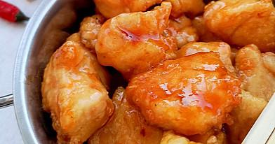 Кисло-сладкая курица, запечённая в духовке - безумно вкусное и легко приготовляемое блюдо