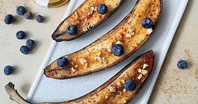 Nuostabus desertas: Kepti bananai su medumi