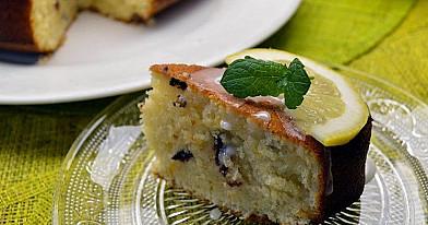 Citrinų pyragas su šokolado lašais