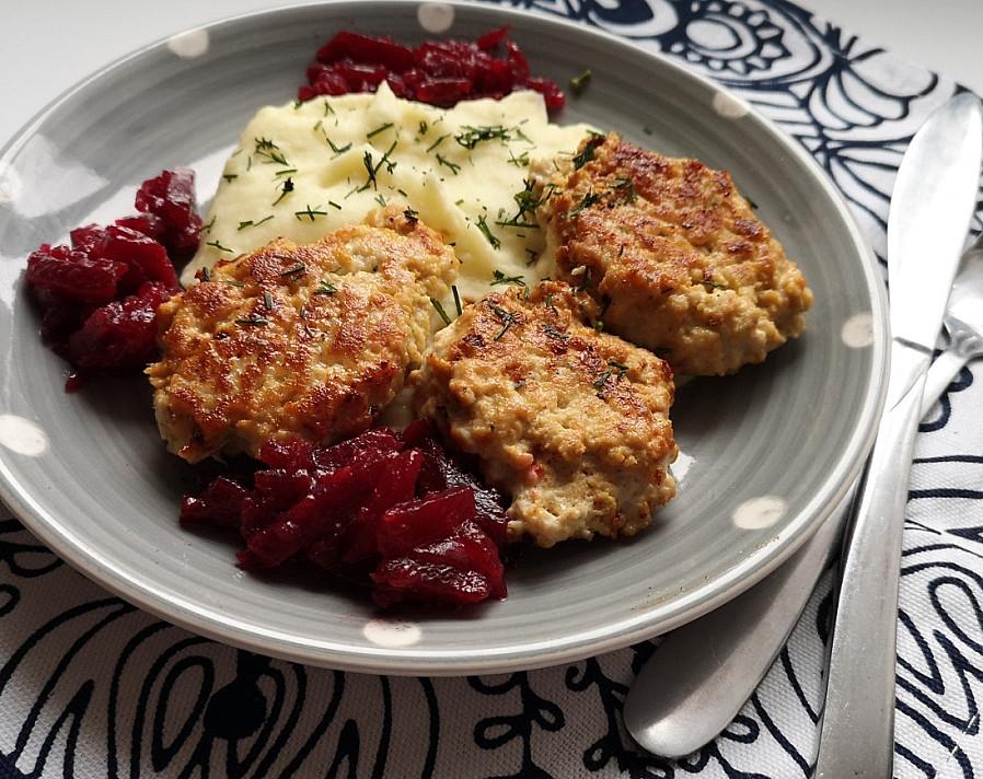 Išmėginkite jau šiandien: Kalakutienos filė maltinukai su kreminiu sūreliu