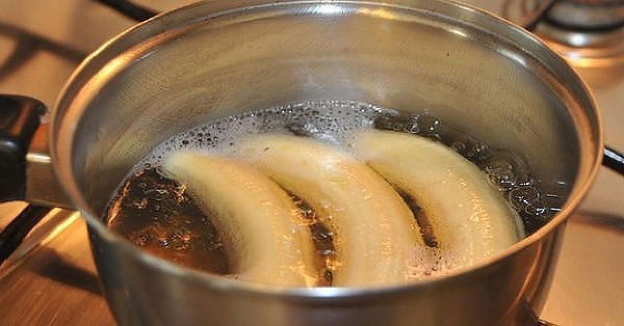 Užvirink bananus su cinamonu ir išgerk prieš miegą. Tokio stebuklingo gėrimo efektas pastebimas jau po 3 dienų