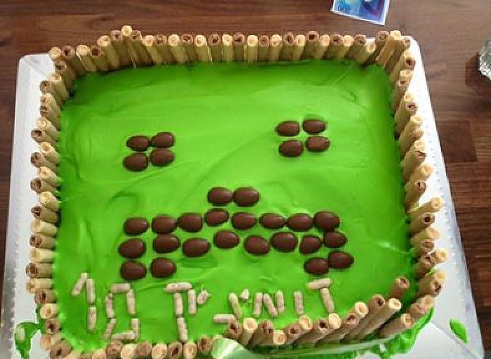 Minecraft receptai: Skaniausias tortas vaikų gimtadieniui!