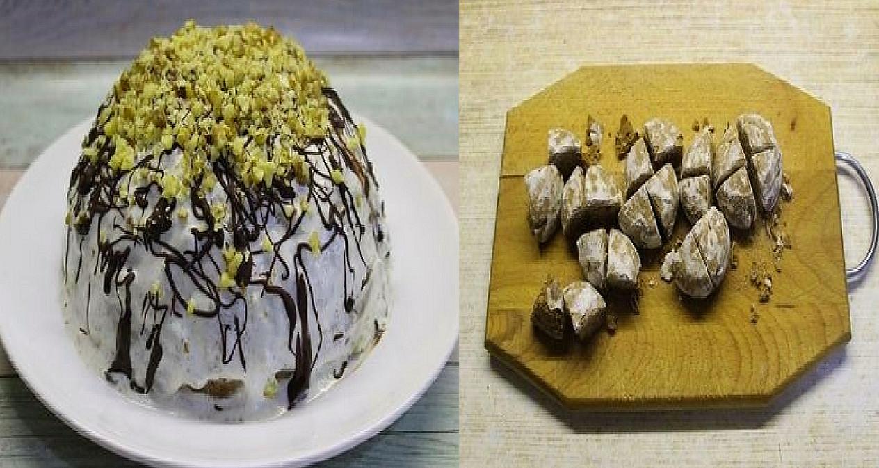 """Nekeptas greitas tortas """"Pančo"""" iš 6 ingredientų"""