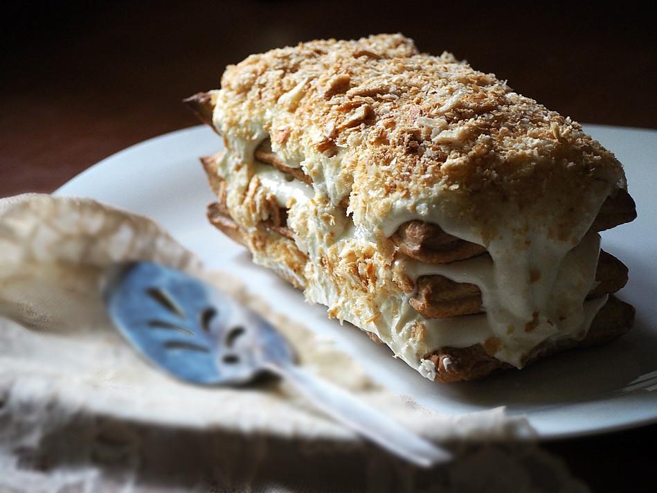 Tortas: Napoleono pusbrolis iš 4 produktų - užsirašysite receptą ateičiai!