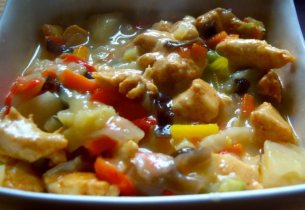 Przepis na potrawkę z kurczaka - dla tych kto nie ma czasu by siedzieć w kuchni!