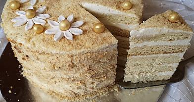 Karališkas Medaus tortas - Medutis