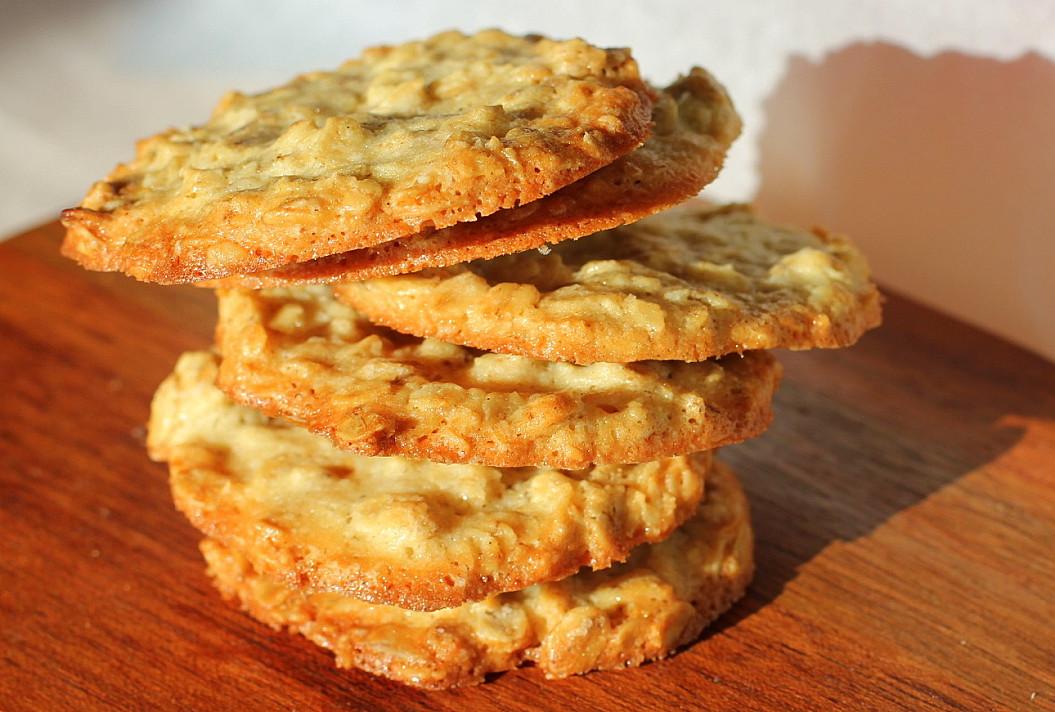 Traškūs avižiniai sausainiai
