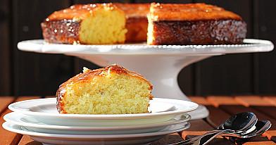 Citrinų pyragas su levandomis