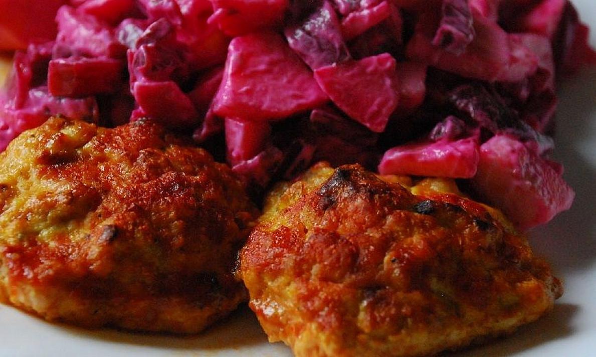 Mėsos kukuliai su sūreliu