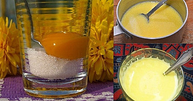Kiaušininis sirupas nuo kosulio