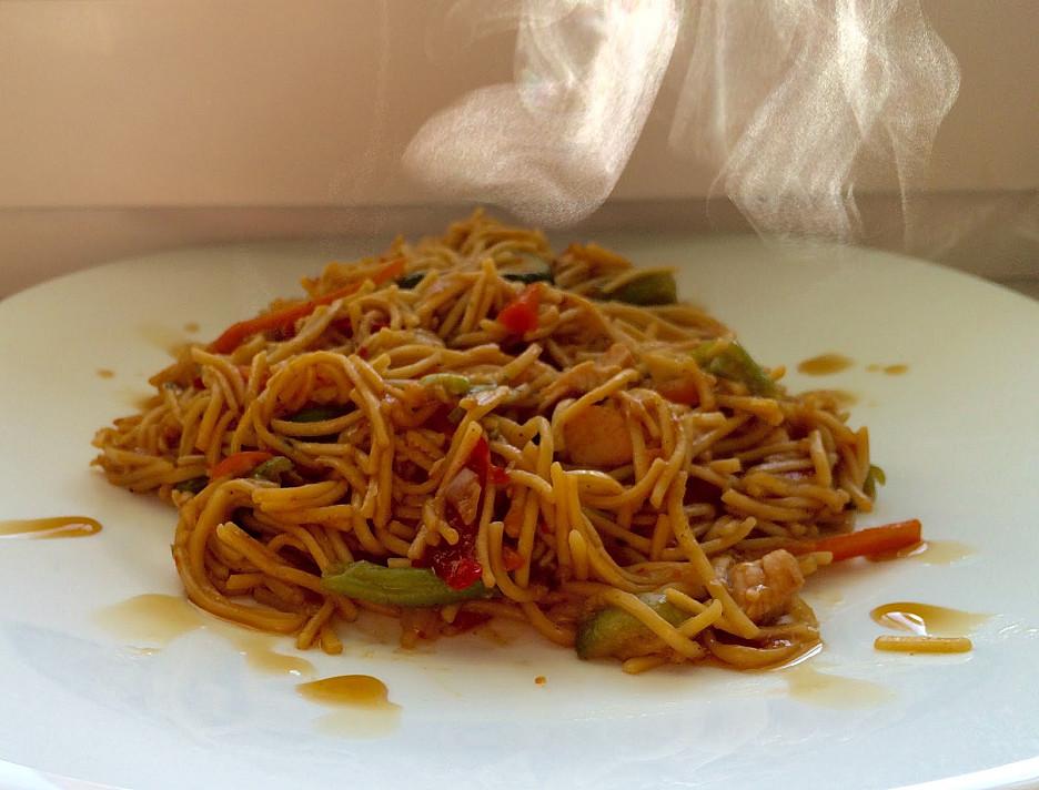 Thai Wok su vištiena