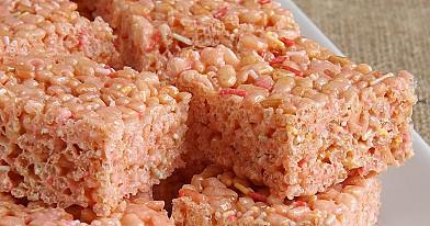 Nekepti pūstų ryžių batonėliai
