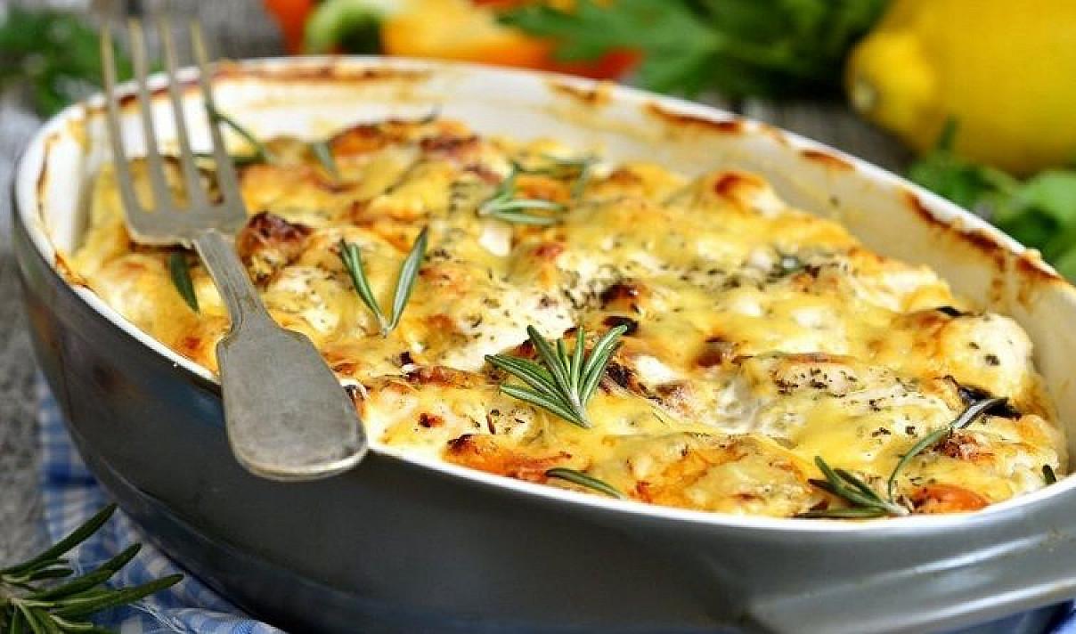 Bulvių apkepas su sūriu | Receptas