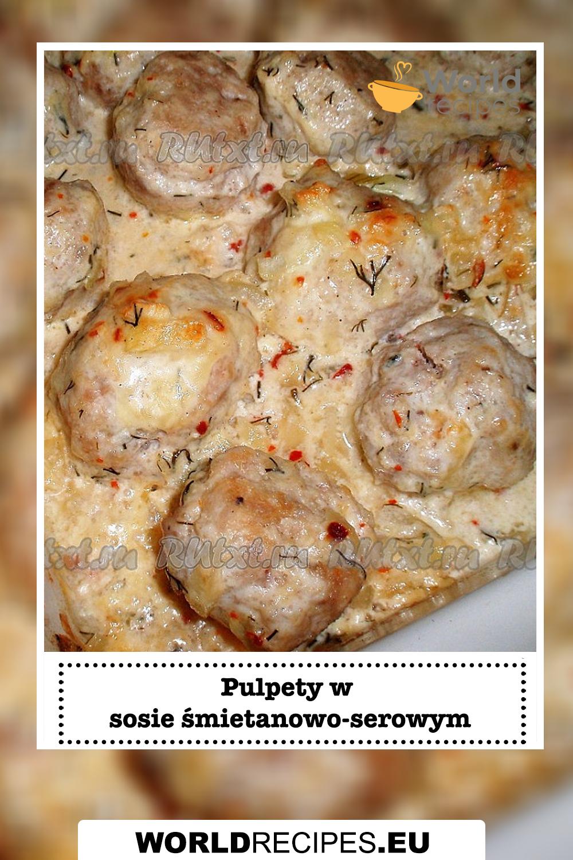 Pulpety w sosie śmietanowo-serowym
