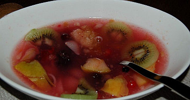 Sweet Fruit Soup