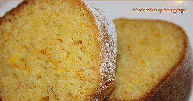 """""""MESKOUTA"""" - marokietiškas apelsinų pyragas"""