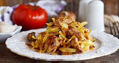 Kapusta soljanka z mięsem wieprzowym