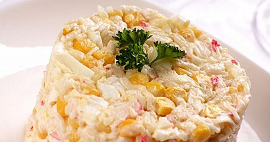 White Salad with Salmon