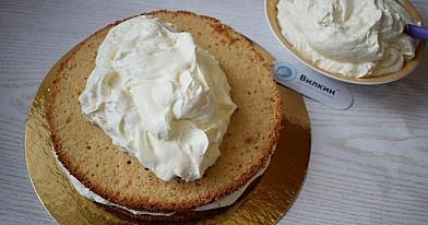 Śliwkowy krem do tortu
