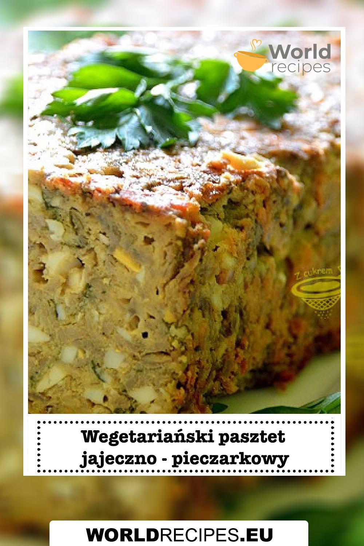 Wegetariański pasztet jajeczno - pieczarkowy