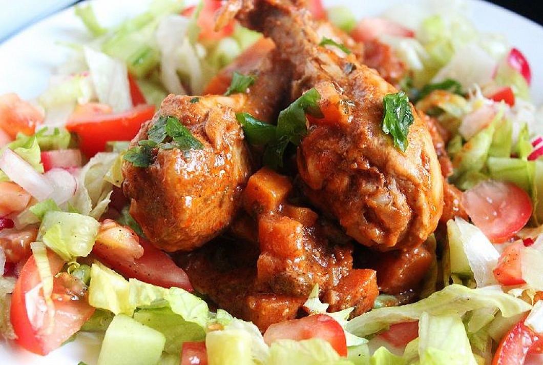 Afrikietiškas vištienos troškinys