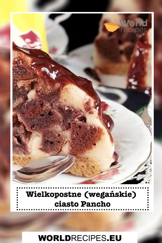 Wielkopostne (wegańskie) ciasto Pancho