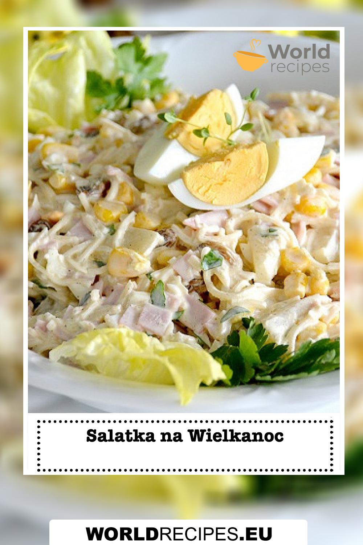 Salatka na Wielkanoc