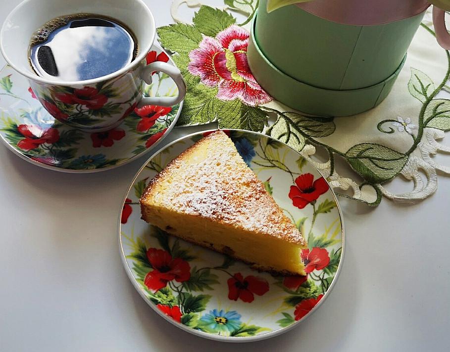 Citrininis pyragas su grietine ir majonezu