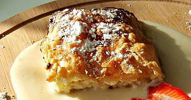 Austriškas varškės pyragas - Štrudelis