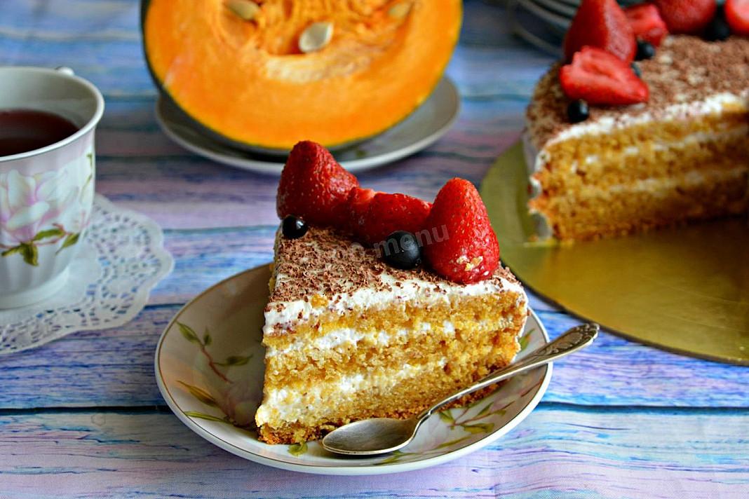 Tort z dynią