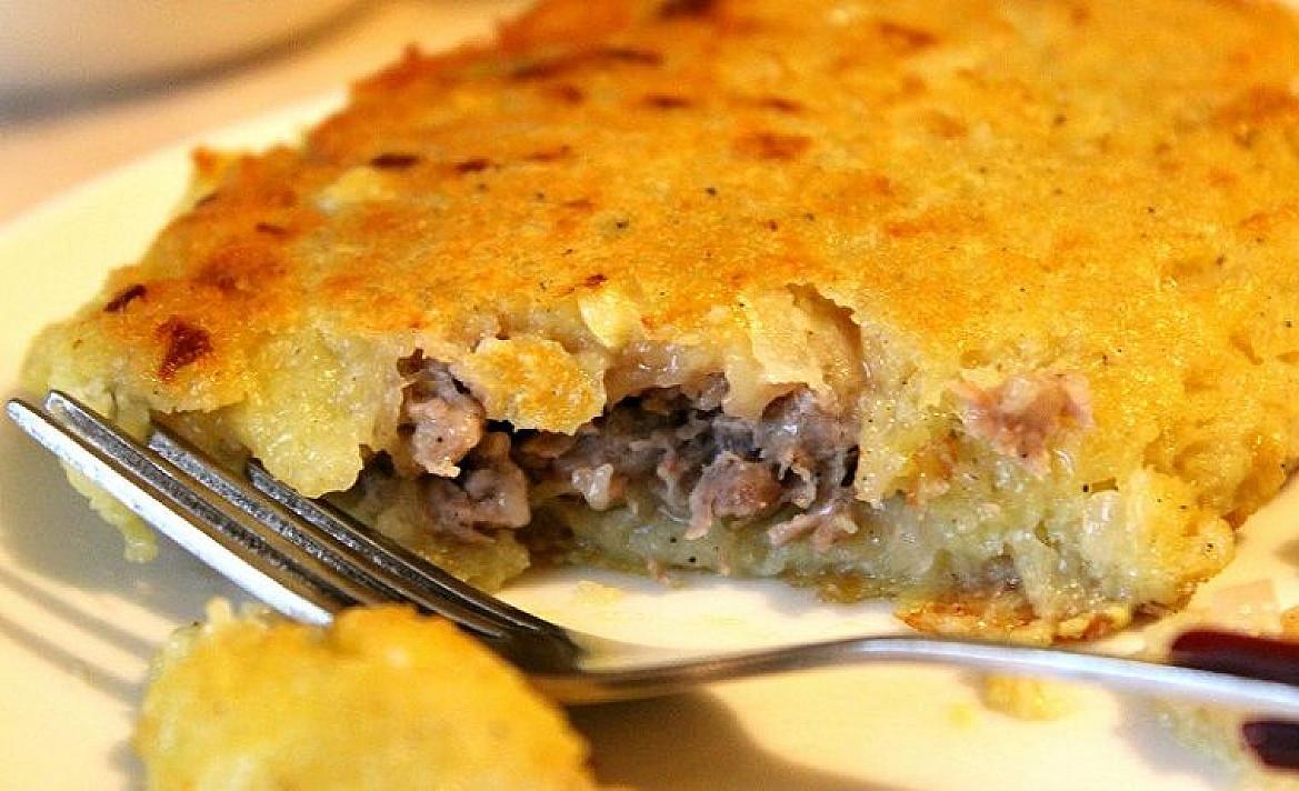 Kėdainių blynai arba Bulviniai blynai su mėsa