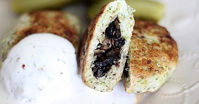 Vištienos ir brokolių zrazai su grybais