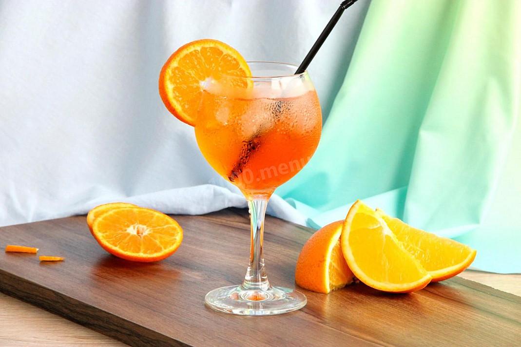Aperol Spritz - Koktajl strzykawka z aperolem i szampanem