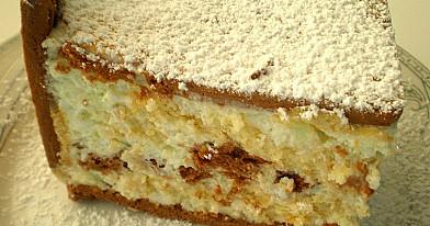 Nekeptas sausainių - varškės pyragas | Receptas