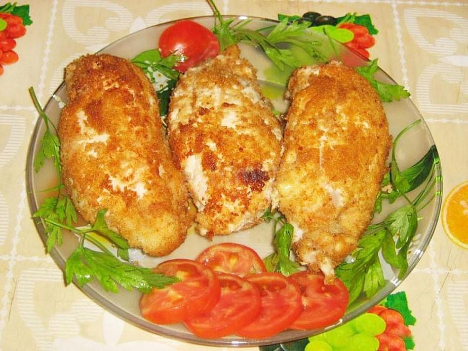 Pierś z kurczaka nadziewana grzybami i serem