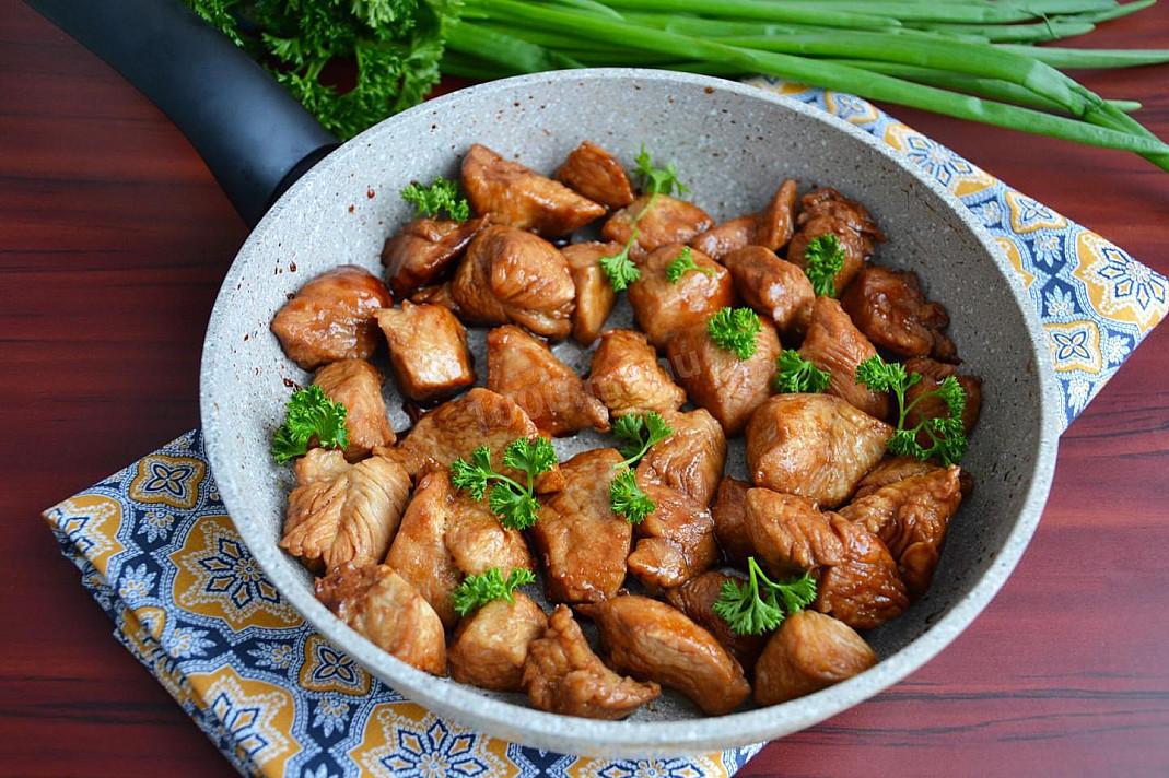 Pieczony indyk z sosem sojowym