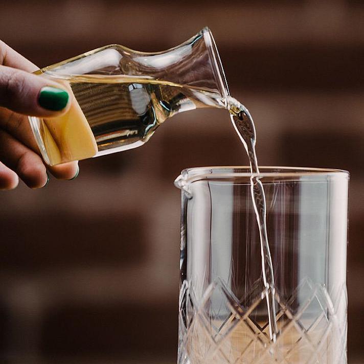 Cukraus sirupas alkoholiniams kokteiliams