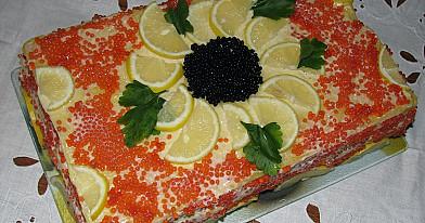 Žuvies tortas su rūkyta skumbre
