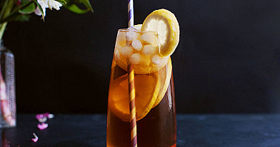 Long Island Iced Tea (Long Ailendas - arbata) kokteilis