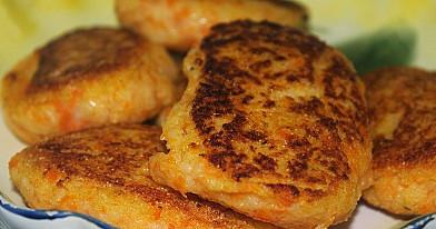 Morkų - bulvių maltinukai