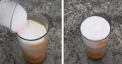 Latte kava. Kaip pasidaryti žingsnis po žingsnio